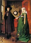 Giovanni Arnolfini and His Young Wife